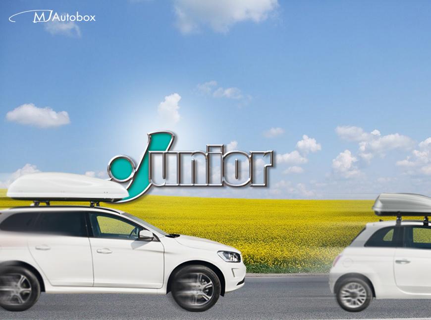 Junior - автобоксове, багажници - кутии за багаж произведени в Италия