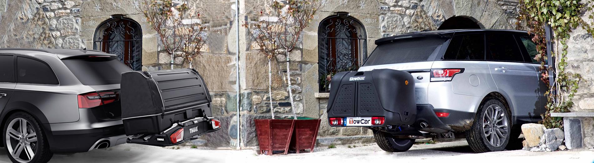 Багажниците за теглич са иновация при автобоксовете и кутиите за багаж и се монтират на теглич