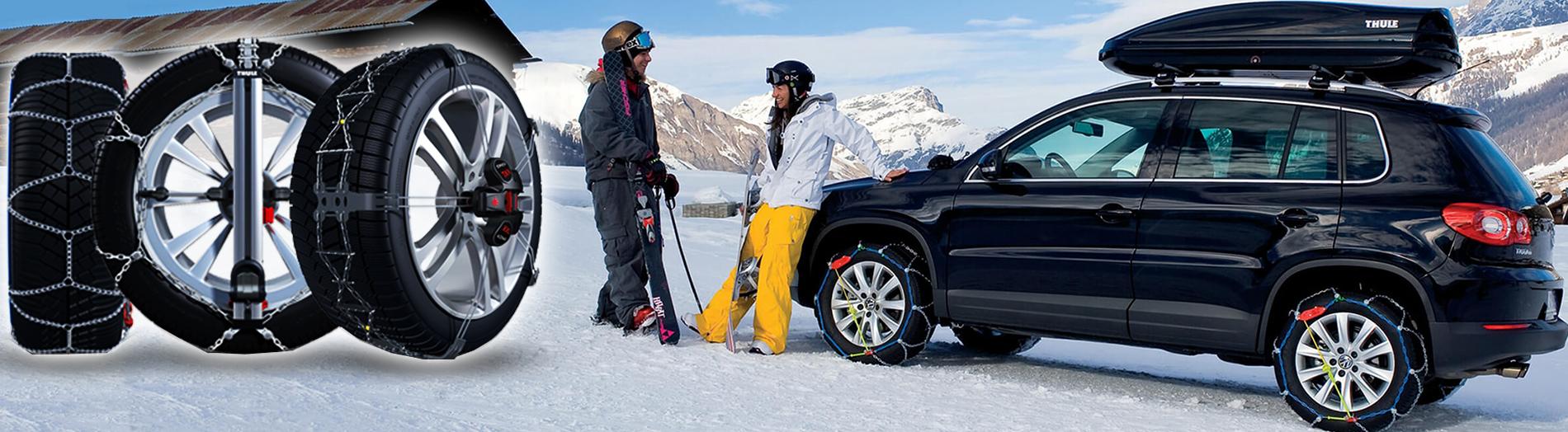 Шофирайте през зимата безопасно и сигурно с професионални и качествени вериги за сняг