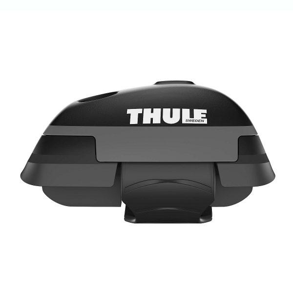 Напречните греди Thule WingBar Edge са подходящи за монтаж на фабрични надлъжни греди тип рейлинг с просвет - дистанцирани от покрива на автомобила.