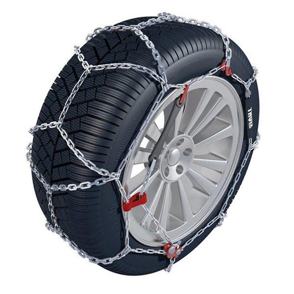 Вериги за сняг Thule / Konig CB-12 изработени от висококачествена 12 мм метална верига с първокласно качество на изработка и дълъг експлоатационен живот.