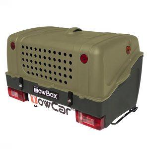 Автобоксът за теглич ToxBox V1 Dog е багажник за превозване на домашни любимци или товари като бебешки колички, инвалидни колички, куфари, косачки, материали и други.