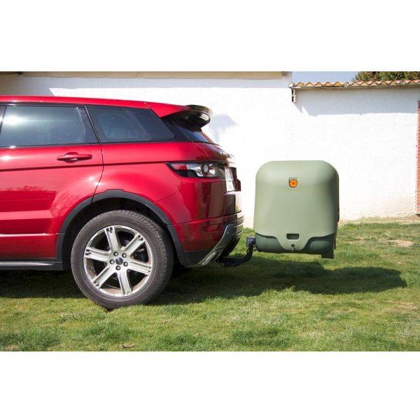 Автобоксът за теглич ToxBox V2 с две отделения и два капака е многофункционален багажник с лесен достъп за товари като бебешки колички, инвалидни колички, куфари, косачки, материали и други.