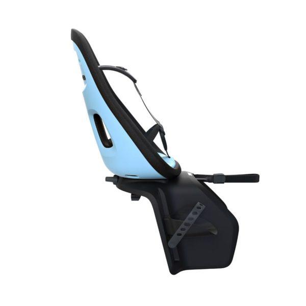 Детско Столче за Велосипед Thule Yepp Nexxt Maxi с монтаж на багажника на задното колелото е безопасен и удобен начин за леко и приятно пътуване заедно