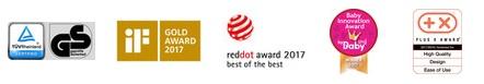 Призове и награди на Детско Столче за Велосипед Thule Yepp Nexxt Maxi