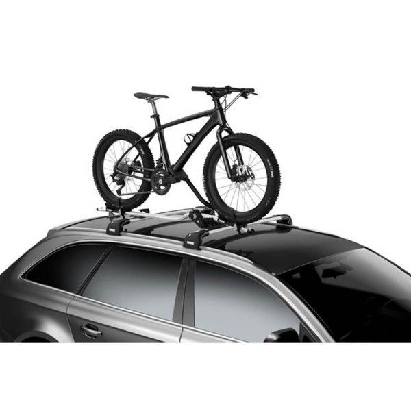 Комплект KIT адаптер 5981, специално проектиран за монтиране на колелета с дебели гуми Фатбайк на велосипеден багажник Thule ProRide 598.