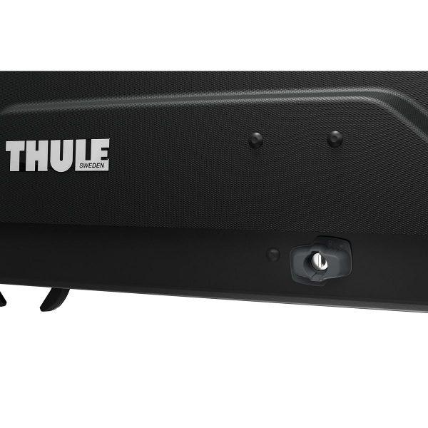 Автобоксът Thule Force XT XL черен мат е голям багажник с обем 500 литра и размери 210 x 86 x 44 см за автомобил, комби, джип сув кола за багаж ски сноуборд-Force-XT-XL-500litra-210cm-08