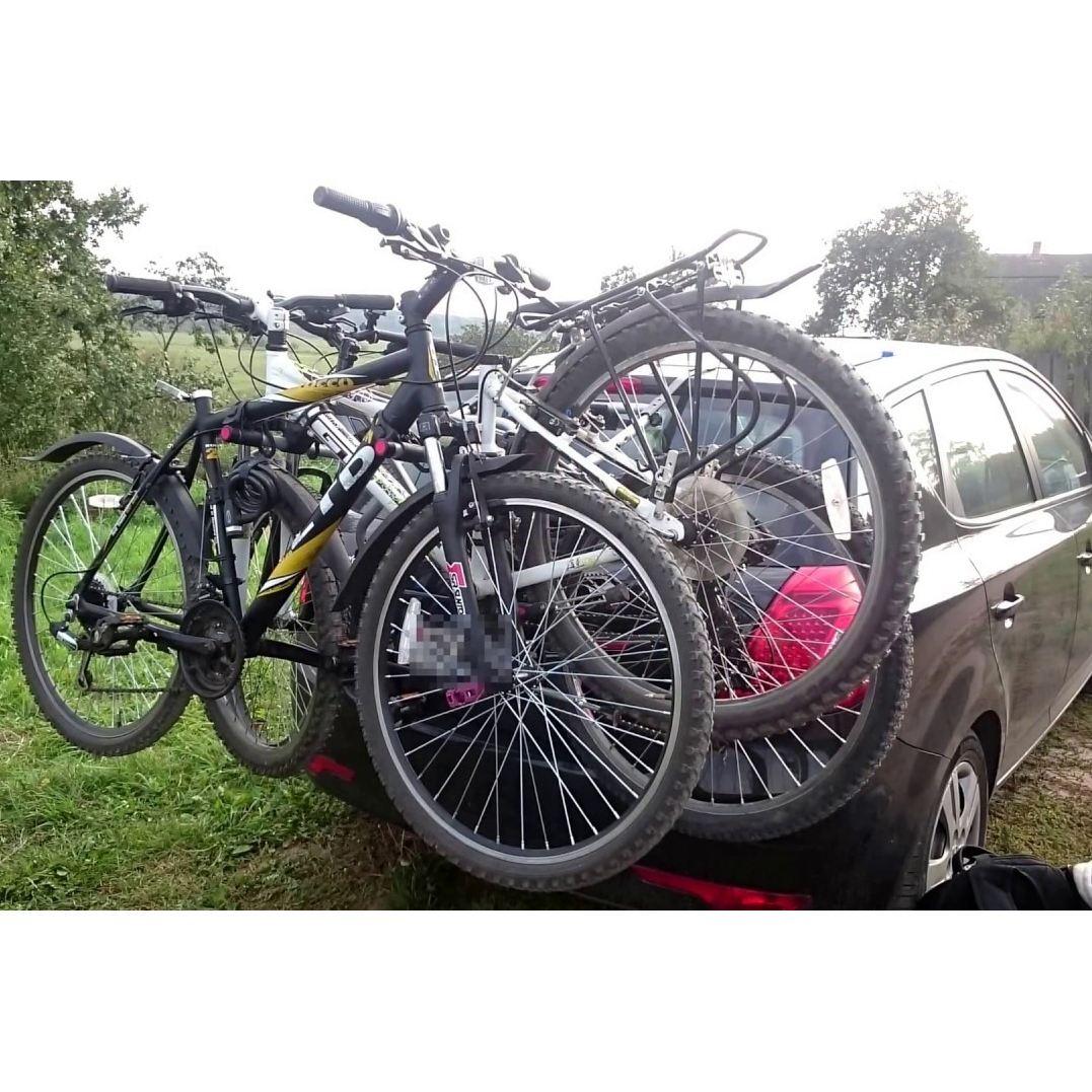 Вело багажник Thule ClipOn 3 9104 за 3 велосипеда , здрав ...