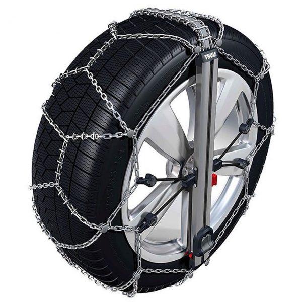 Веригите за сняг, лед, кал Thule Konig Easy-fit SUV с автоматично самозатягане, изработени от висококачествена 10 мм метална верига дълъг живот против хлъзгане.-fit_CU-10_SUV_03