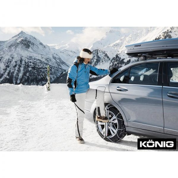Веригите за сняг, лед, кал Thule Konig Easy-fit SUV с автоматично самозатягане, изработени от висококачествена 10 мм метална верига дълъг живот против хлъзгане.-fit_CU-10_SUV_12