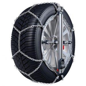 Веригите за сняг Thule Konig Easy-fit CU-9 с автоматично самозатягане са изработени от висококачествена 9 мм метална верига с дълъг експлоатационен живот.-fit_CU-9_01