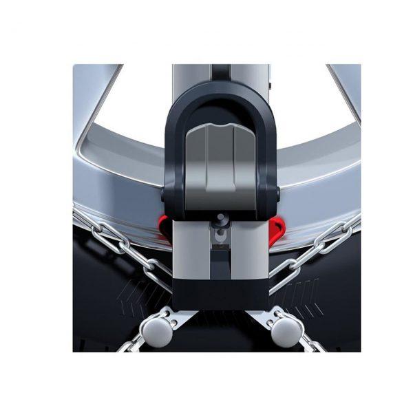 Веригите за сняг Thule Konig Easy-fit CU-9 с автоматично самозатягане са изработени от висококачествена 9 мм метална верига с дълъг експлоатационен живот.