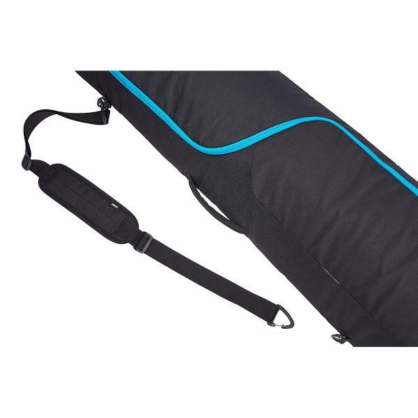Универсален сноуборд багажник, просторна сноуборд чанта Thule RoundTrip Snowboard Bag, сак, калъф за пренасяне на една дъска и обувки с непромокаема подплата и цип