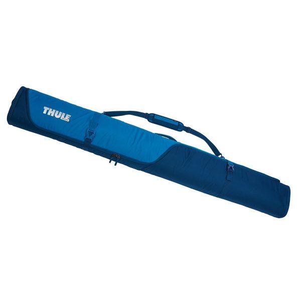 Универсален ски багажник Thule RoundTrip Ski Bag, чанта, сак, калъф за пренасяне на два чифта ски за бягане или един чифт алпийски ски с непромокаема подплата и цип