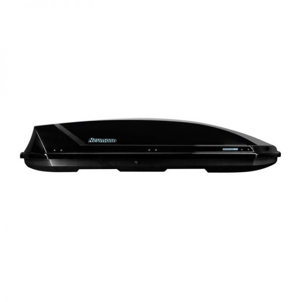 Много Голям Автобокс Neumann Adventure 230 с обем 630 литра черен гланц. Тих, красив и аеродинамичен багажник, куфар багаж за голяма кола, комби, джип, ван