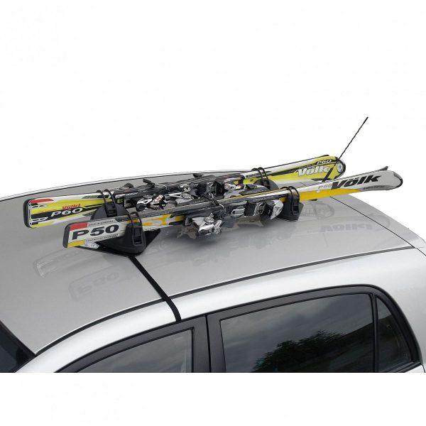 Магнитен багажник Menabo Igloo за 2 чифта ски е лесен, евтин и удобен за транспортиране с компактен дизайн и изключително голяма сила на залепване.