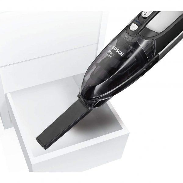Ръчна прахосмукачка Bosch Move BHN14090 NiMH 14.4V за почистване на кола, автомобил, багажник с работа на батерия без кабел