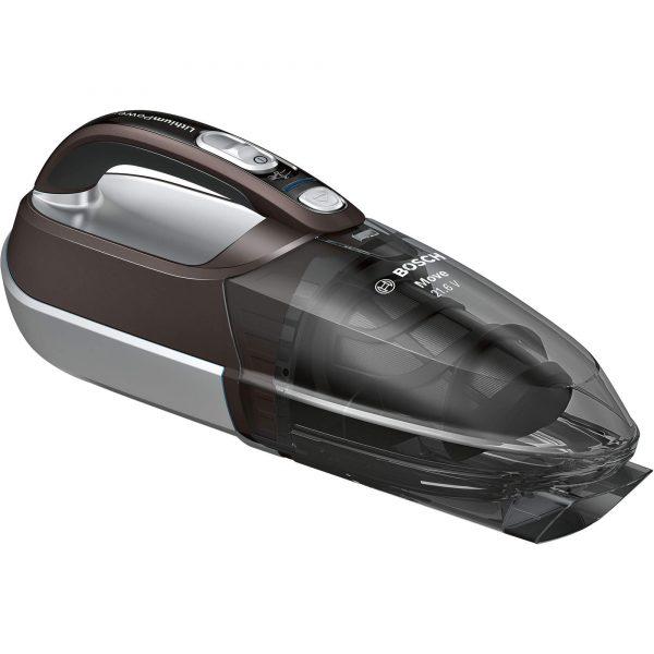 Ръчна прахосмукачка Bosch Move BHN2140L  Li-Ion 21.6V за почистване на кола, автомобил, багажник с работа на батерия без кабел