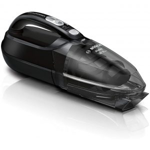 Ръчна прахосмукачка Bosch Move BHN24L Li-Ion 24V за почистване на кола, автомобил, багажник с работа на батерия без кабел