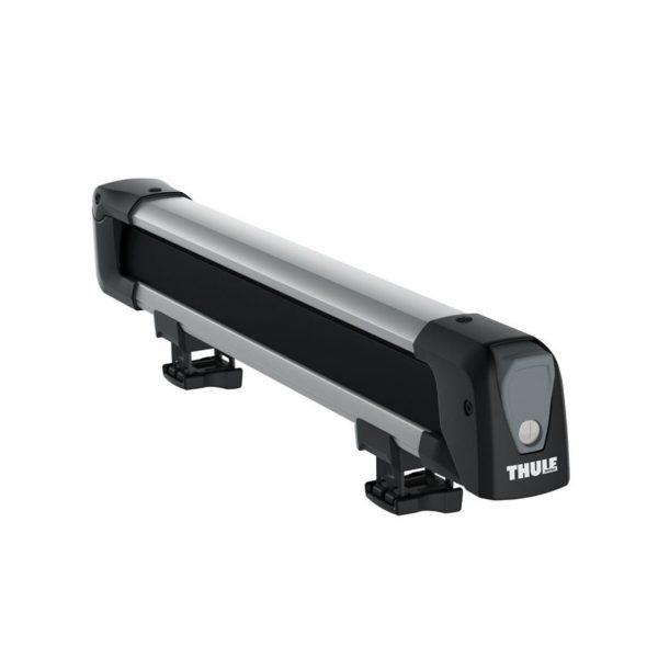 Комплектът Thule SquareBar Adapter 8897 е адаптер, специално проектиран за монтаж на стоманени напречни греди на ски и каяк багажници