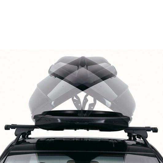 Багажник Автобокс Northline EvoSpace бял е тих луксозен красив и спортен багажник - кутия за ски багаж модерен дизайн голям обем перфектна аеродинамика