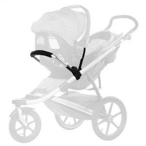 Адаптер Thule Urban Glide за детско кошче за кола за бебета и новородени, прикрепване към детска лятна количка. Универсален, съвместим с различни модели.