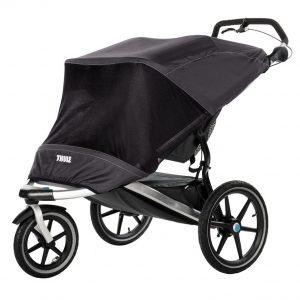Thule Urban Glide Double Mesh Cover - Защитен слънчобран комарник за детска лятна количка Thule Urban Glide. Защитава детето ви от слънце, вятър и насекоми
