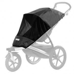 Thule Urban Glide Mesh Cover - Защитен слънчобран / комарник за детска лятна количка Thule Urban Glide. Защитава детето ви от слънце, вятър и насекоми