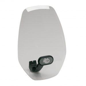 Защитно стъкло Thule Yepp Mini Windscreen - ветробрана за детско столче Thule Yepp Mini, здраво и от напълно прозрачен материал предпазва вашето дете от вятър и насекоми.