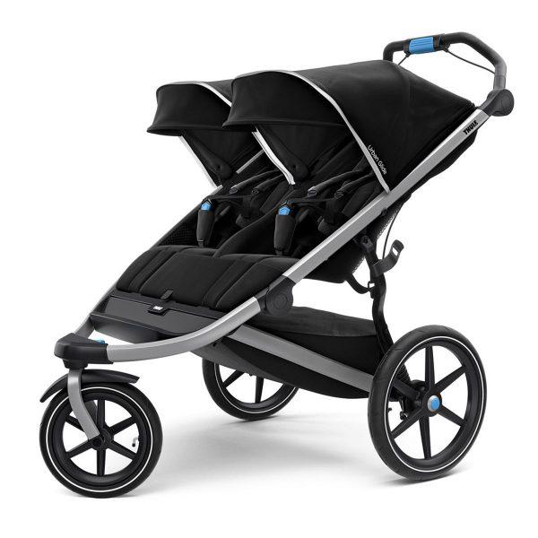 Двойна Спортна детска лятна количка за близнаци Thule Urban Glide 2 double