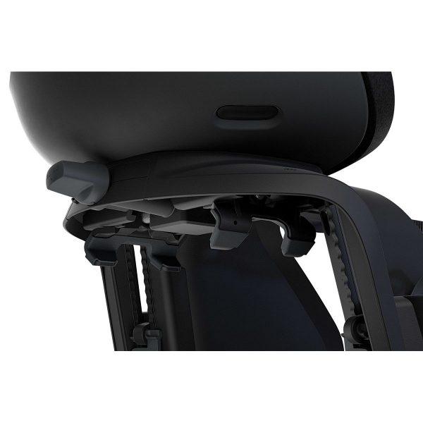 Детско Столче за Велосипед Thule Yepp Nexxt Maxi с монтаж на багажника на задното колелото е безопасен и удобен начин за леко и приятно пътуване заедно.