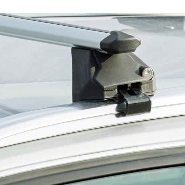 Напречни греди Green Valley 157812 Алуминиеви 112см за MERCEDES  GLC 5 врати SUV 15- с интегрирани надлъжни греди