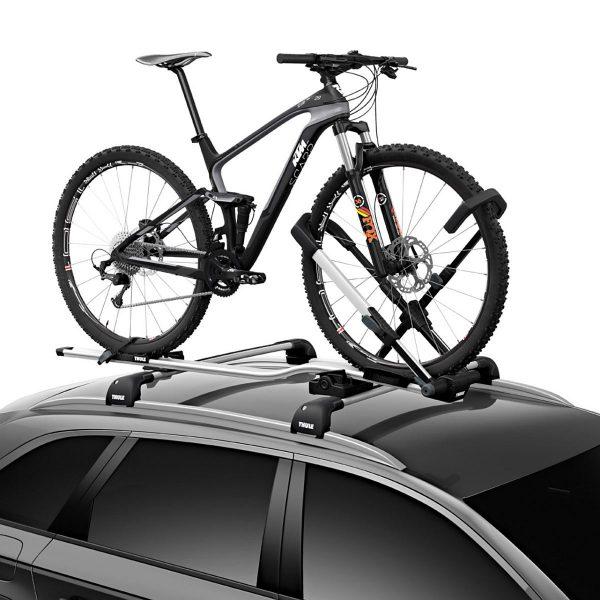 Вело багажник за колело Thule UpRide 599  е един от най-безопасните, най-бързите и най-удобните за използване багажници правени някога.