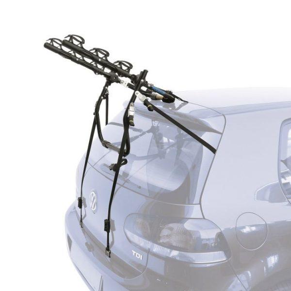 Вело багажник Peruzzo Cruiser Deluxe 324 черен за 3 велосипеда е здрав, сигурен, стабилен, масивен и лесен за използване висящ багажник на добра цена, евтин Италия