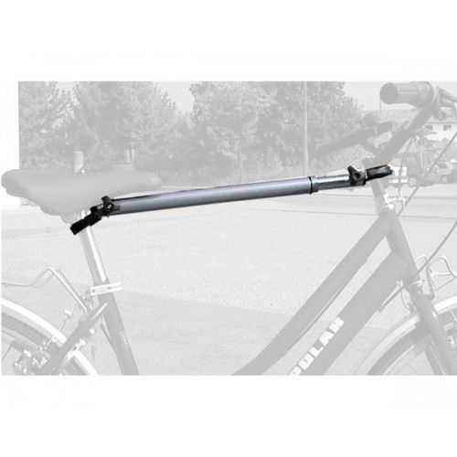 Удължаващ напречен адаптер за рамка Peruzzo 395 за дамско или детско колело без фабрична напречна рамка за монтаж на висящ вело багажник за багажната врата