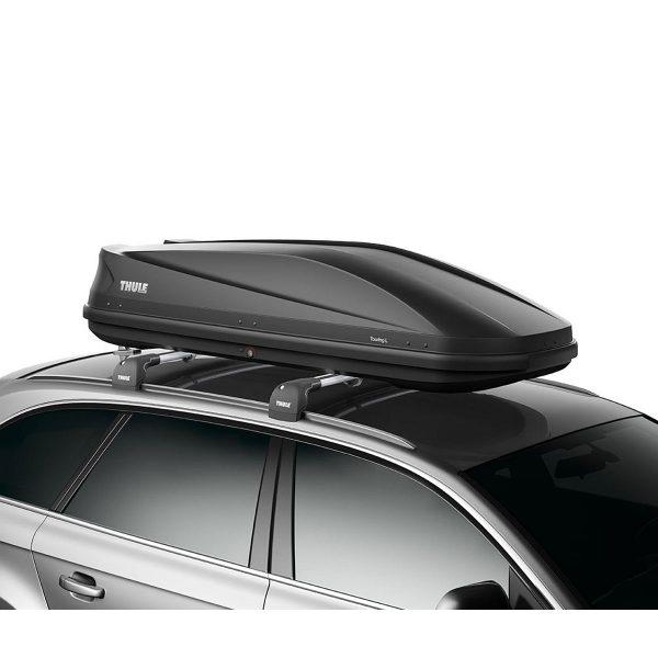 Автобокс Thule Touring L 780 - голяма, стилна и модерна кутия за багаж в черен мат, с капацитет от 420 литра много място за съхранение дизайн и аеродинамика