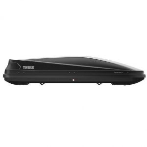 Автобокс Thule Touring Sport - голяма, стилна и модерна кутия за багаж в черен мат, с капацитет от 420 литра много място за съхранение дизайн и аеродинамика