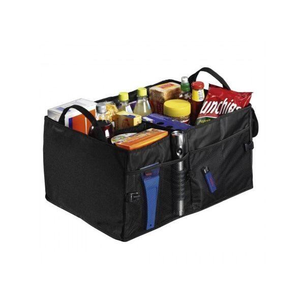 Универсален органайзер за кола HAMA 83963 - сгъваема чанта перфектното решение на проблемите със съхранението на аксесоари във вашия автомобил.