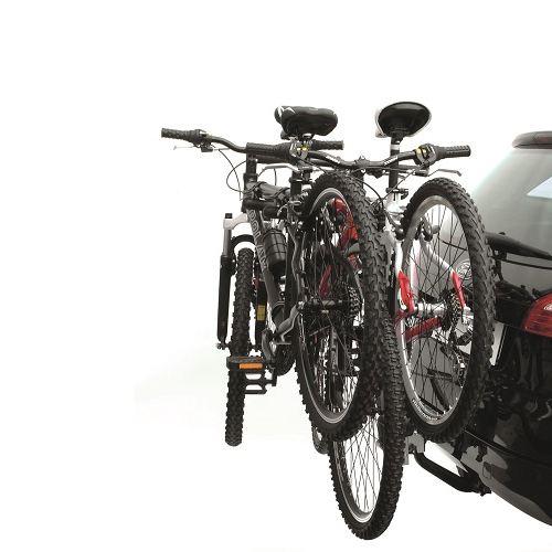 Вело багажник за колела Peruzzo Arezzo 667 за 3 велосипеда е здрав, сигурен, стабилен, масивен и лесен за използване с пълно заключване и сгъваем за теглич