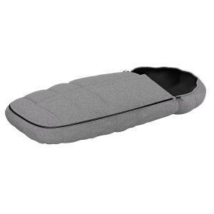 Бебешкото термо чувалче Thule Footmuf с топло поларено одеяло за детска количка с голям отвор, подходящо за 5 точкови колани, подплата за обувки