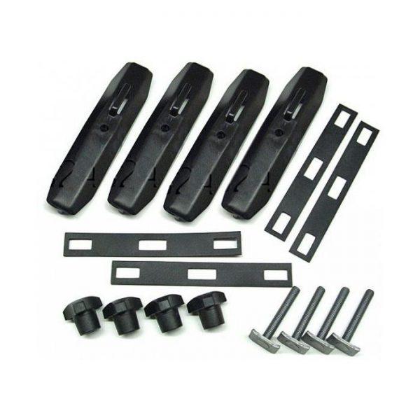 Адаптер T-болтове за Автобокс Thule T-track Adapter 697-4 20x27mm за закрепване на автобокс директно към канала на алуминиеви напречни греди на автомобили.