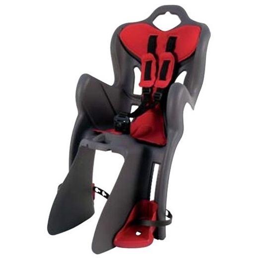 Детско Столче за колело Bellelli B-One Standart Multifix с монтаж отзад на велосипеда на рамката е безопасен и удобен начин за леко и приятно пътуване заедно
