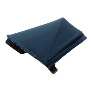 Вентилиран сенник за детска количка Thule Spring Canopy Majolica Blue регулируем, удължаващ се, със защита от слънце.