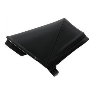 Вентилиран сенник за детска количка Thule Spring Canopy Midnight Black регулируем, удължаващ се, със защита от слънце.