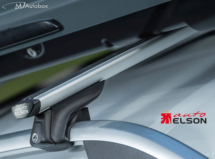 Напречните греди Elson са универсални, много хубави и много тихи аеродинамични греди от здрав алуминий с масивен и подсилен профил в комбинация с прибрани и аеродинамични захвати.