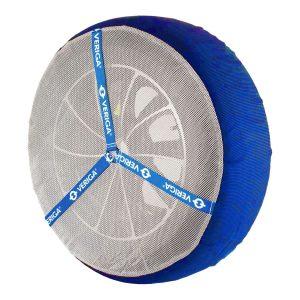 Текстилни автомобилни вериги за сняг Veriga Car Sock са много ефективни с голямо сцепление върху сняг и лед, издръжливи и предпазват гуми, джанти, окачване, за лек автомобил със спортно окачване и малък клирънс