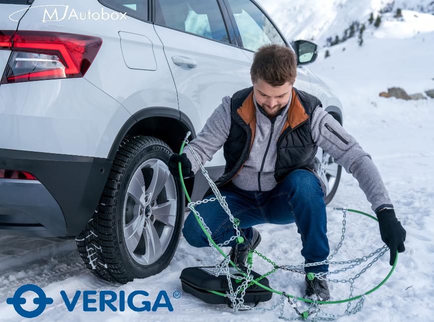 Вериги за сняг - Veriga - вериги за леки коли, вериги за бусове, джипове, пикапи, товарни автомобили, камиони, трактори, багери за сняг, лед и кал.