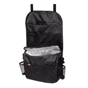 HAMA 83963 универсален органайзер с термо отделение за кола организатор за багаж с монтаж на задната част на предните или задни седалки на автомобил