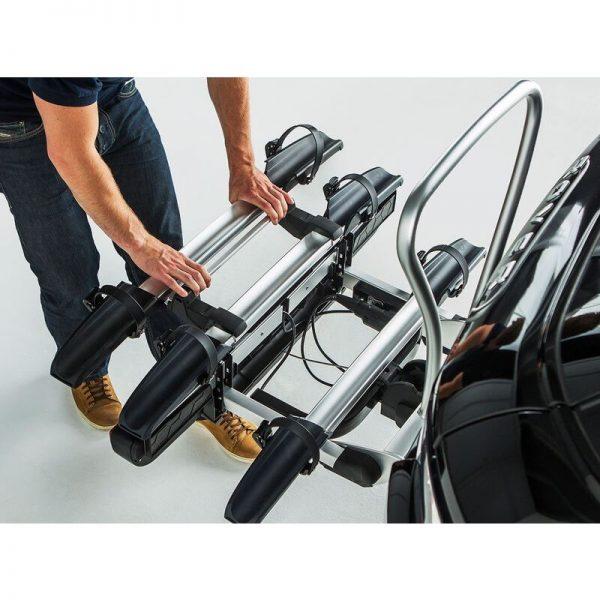 Адаптер Yakima JustClick+1 за Допълнително колело на Вело багажник за колела JustClick с монтаж на теглич. Включва рамо за рамката на колелото.