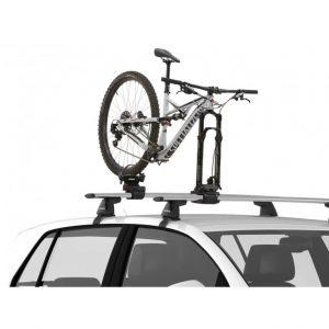 Вело багажник за колело Yakima ForkChop е идеален за използване и комбиниране с други багажници или скари - кошници, малък и компактен.